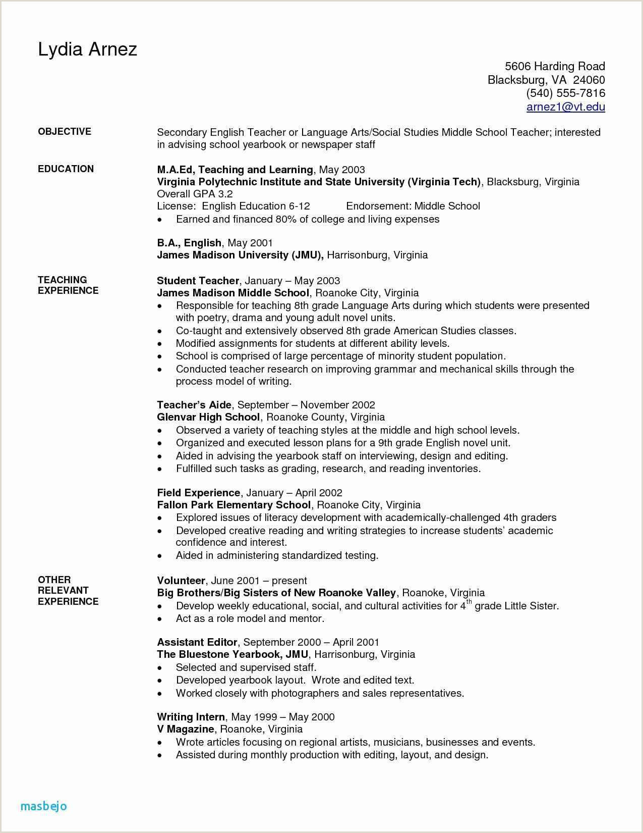 Child Care Sample Resume Inspirational Day Care Provider Resume Examples – 50ger