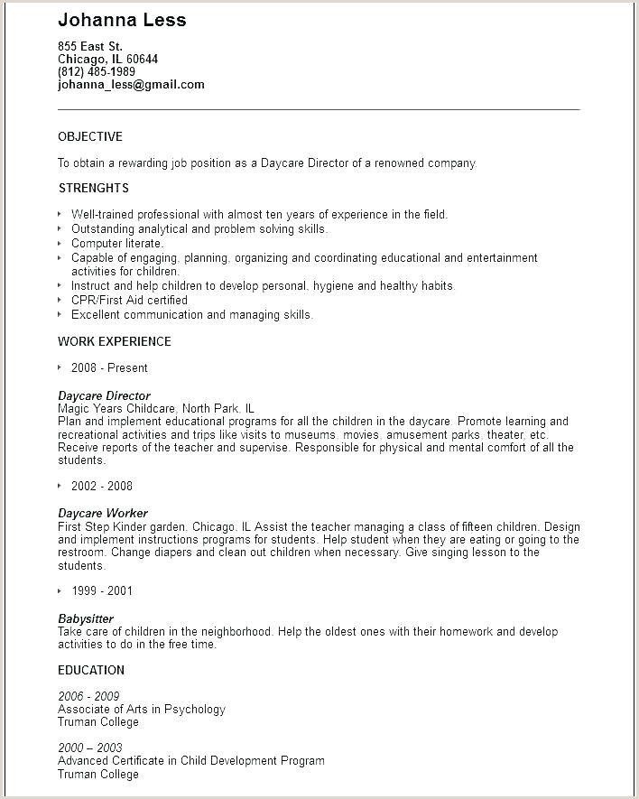 Childcare Educator Resume Educator Resume Template – Growthnotes