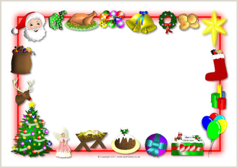 Christmas Borders Paper Of Landscape Page Border Sabadaphnecottage