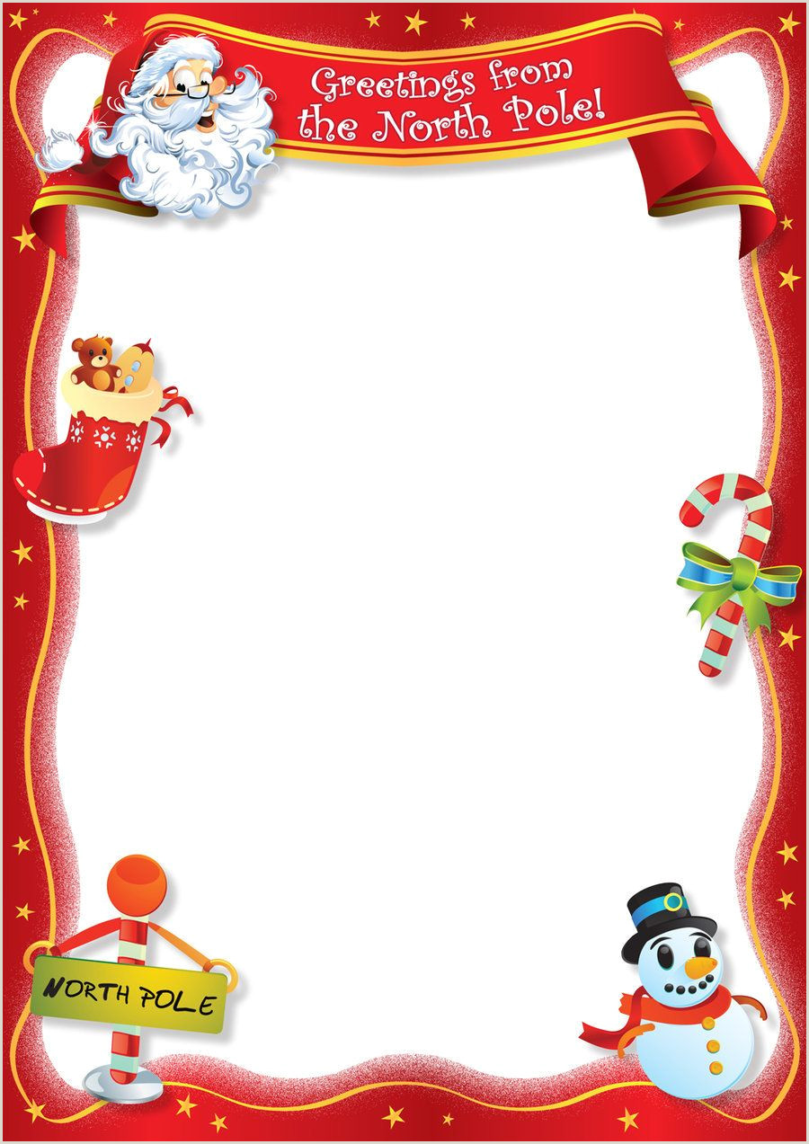 Christmas Photo Frames Templates Free Free Blank Letter From Santa Template New Calendar Template