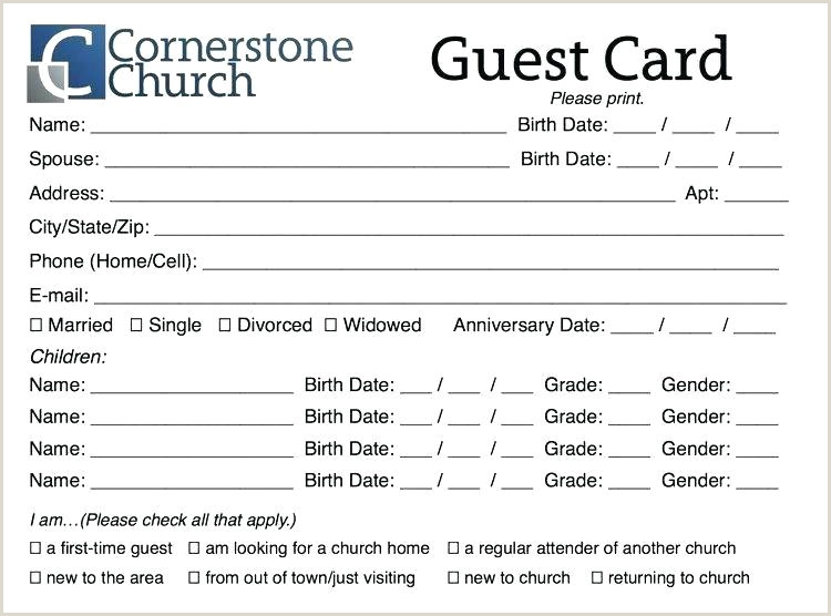 Church Camp Registration form Template Church Membership Template
