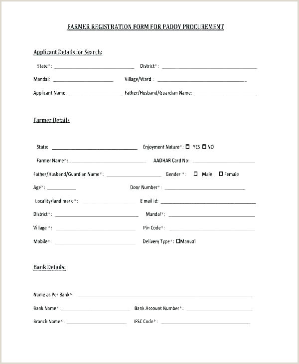 free voting form template