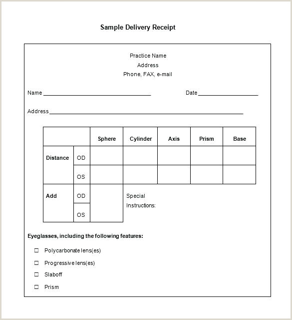 Clothing Donation Receipt Form Template For Church Word