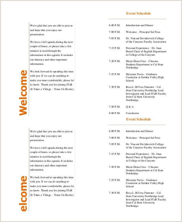 Church event Program Template 39 Sample event Program Templates Psd Ai
