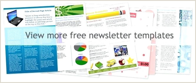 Free Church Newsletter Templates More Free Newsletter