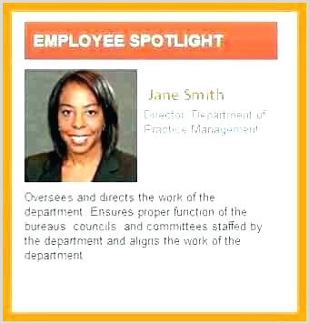 pany Bio Template Awesome Employee Gallery Resume