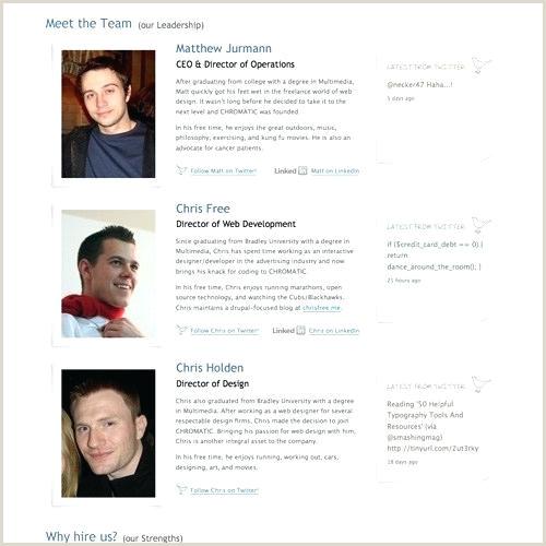staff bio template