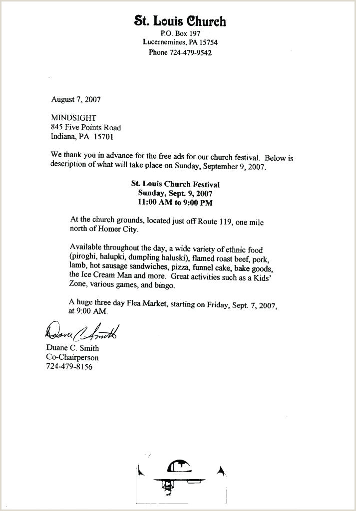 Church Thank You Letter for Donation Food Donation Thank You Letter Template Donor