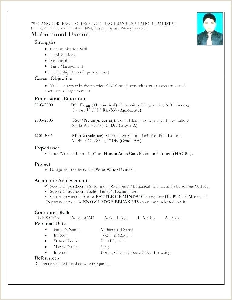 Civil Fresher Resume Format Pdf Resume Format Pdf – Paknts