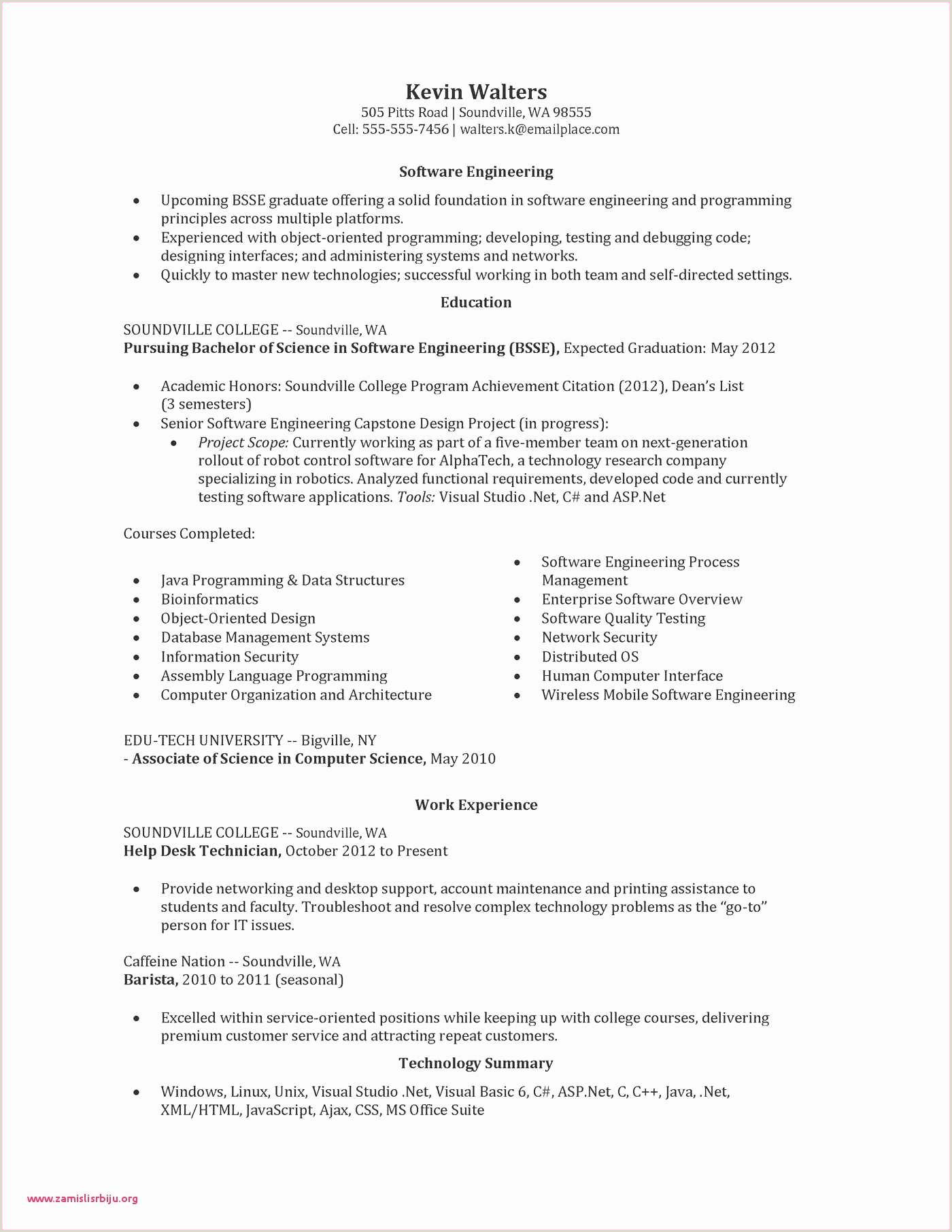 Cover Letter for Engineering Sample Resume with Cover Letter