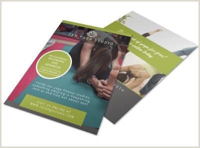 Zen Yoga Studio Flyer Template