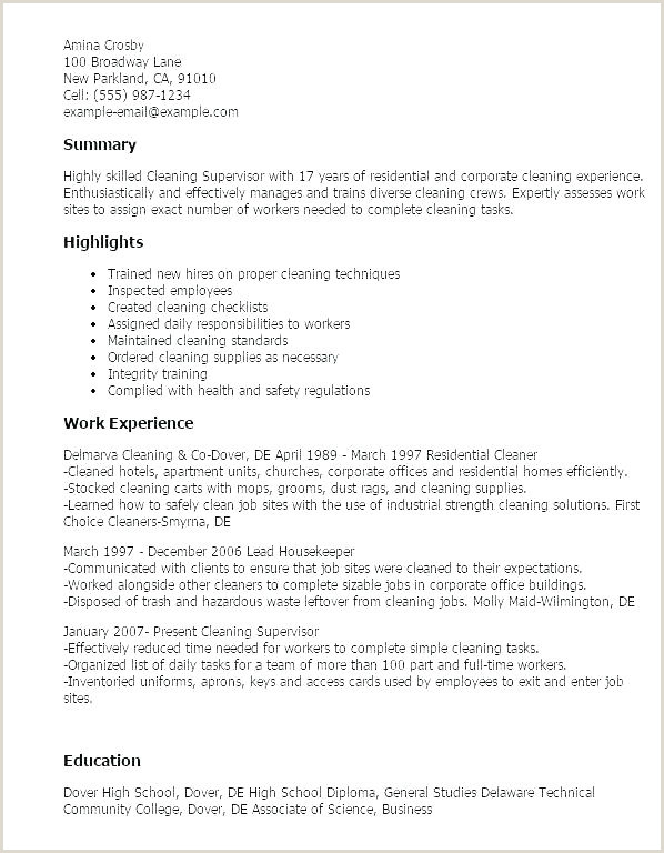 cleaning manager sample resume – podarki