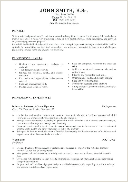 Cleaner Cv Template Industrial Resume Template – Jameshuntcode