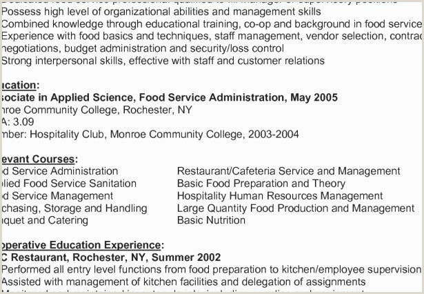Unique Kitchen and Culinary Resume Skills – 50ger