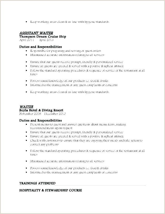 objective for resume server – paknts