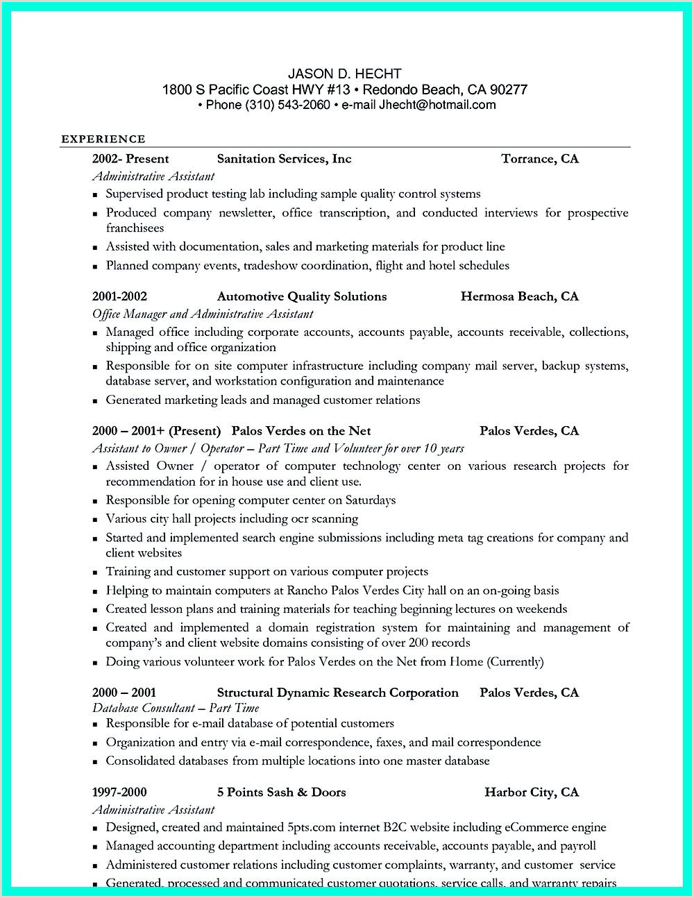 Cocktail Server Resume Pin On Resume Sample Template and format