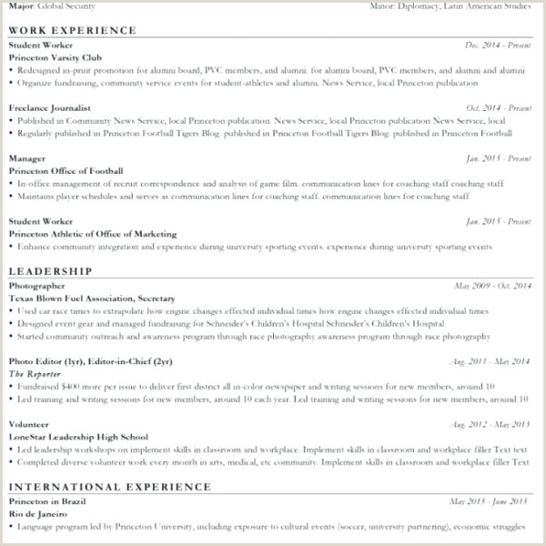 College athletic Resume Template Coaching Resume Template Good Sample soccer for High School