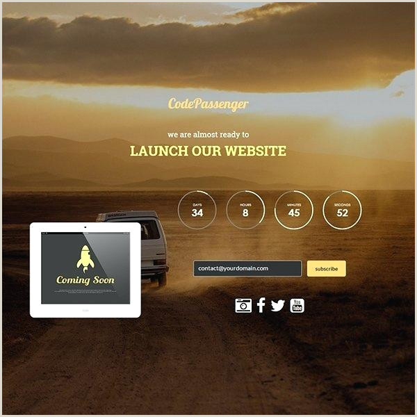Coming soon Poster Template Sunrise Responsive Ing soon Template Simple Bootstrap