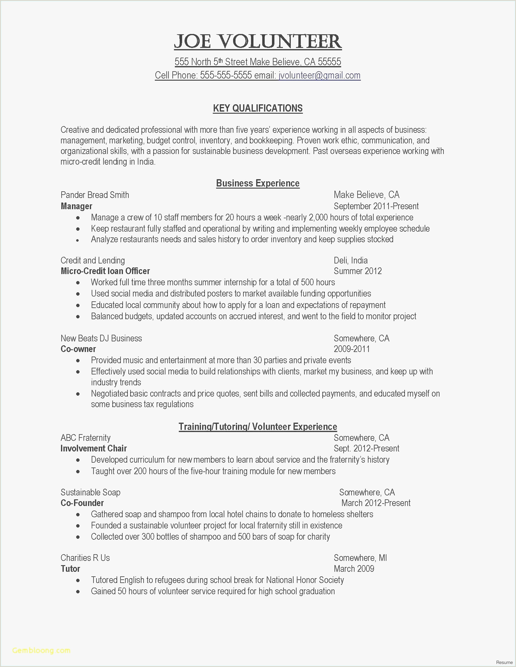 Community Manager Resume Sample 10 Business Acumen Resume Examples