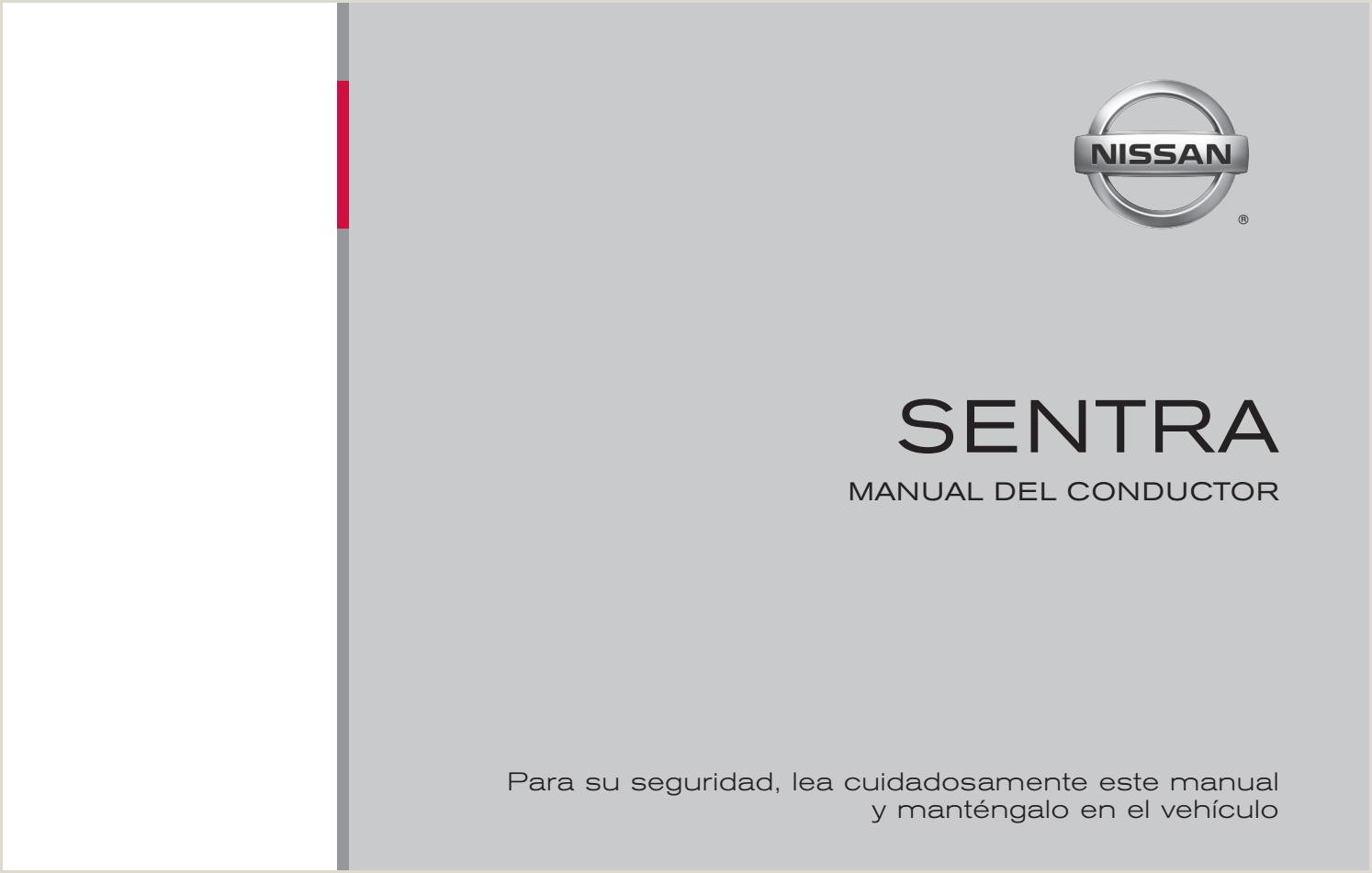 Manual De Usuario Nissan Sentra Mod 2008 by Mauros2000 issuu