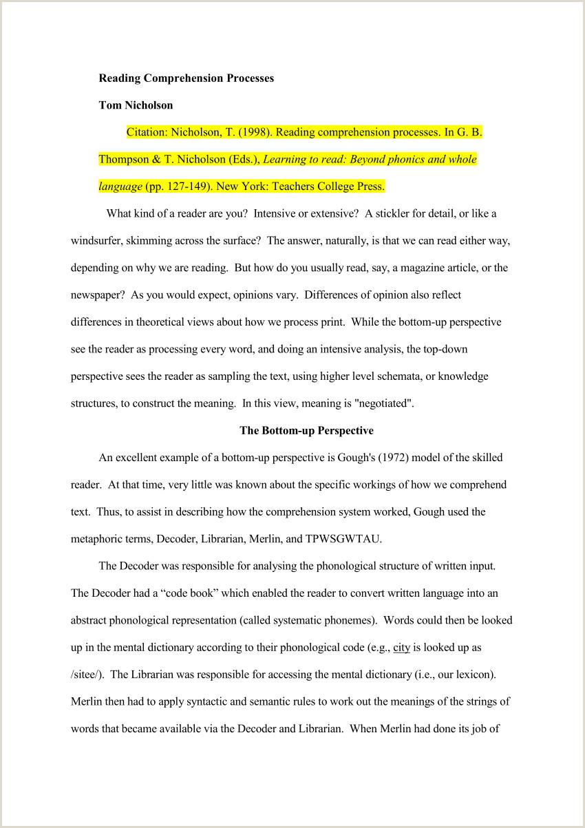 PDF Reading prehension processes