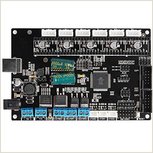 TriGorilla Integrate Mainboard Controller Board Remplacement 4 couches matérielles d accessoires de carte m¨re d imprimante 3D de carte PCB pour