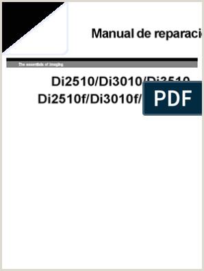 Como Hacer Una Hoja De Vida Actual Di2510 Di3010 Di3510 Service Manual