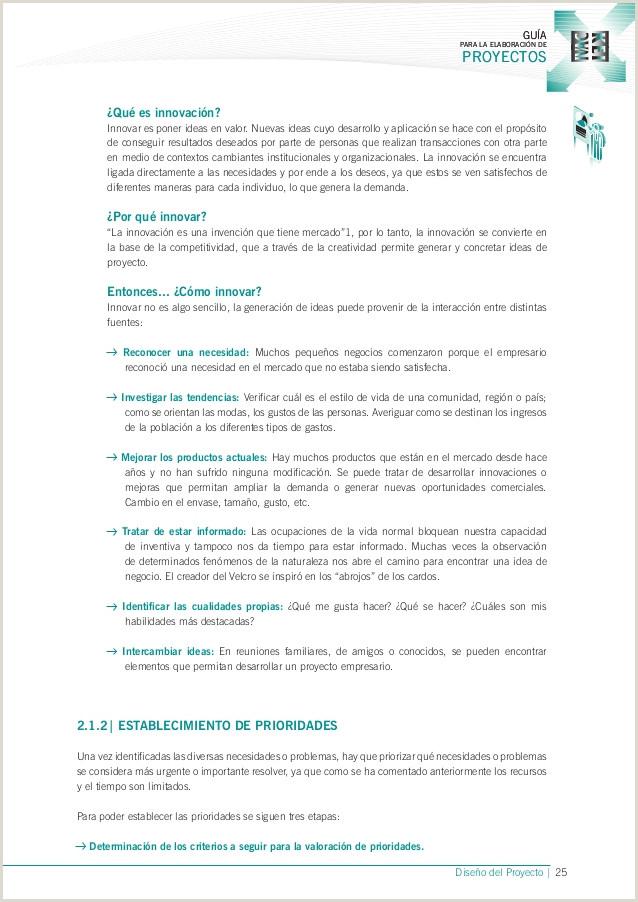 Como Hacer Una Hoja De Vida Actual Guia Para La Elaboracion De Proyectos Gobierno Vasco