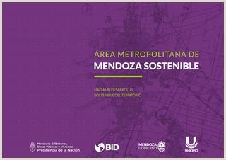 Como Hacer Una Hoja De Vida Artistica Ejemplos rea Metropolitana De Mendoza sostenible Hacia Un