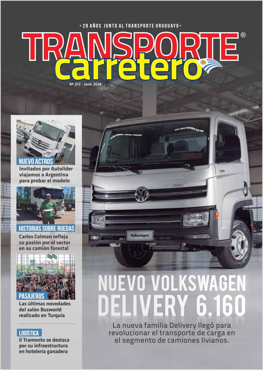 Transporte Carretero Nº 272 Junio 2018 by Dise±o