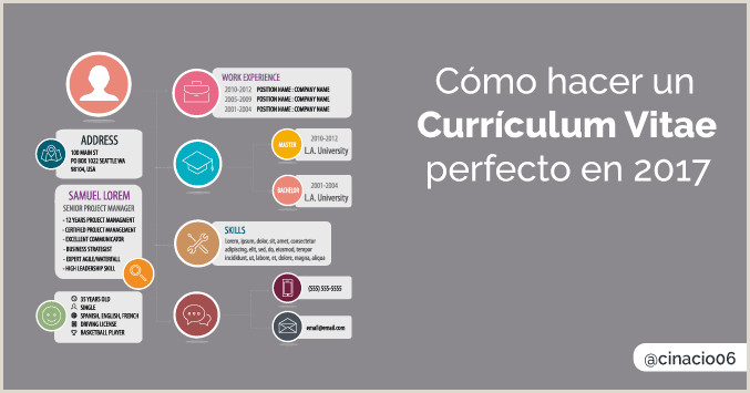 Como Hacer Una Hoja De Vida atractiva Ejemplos Curriculum Vitae 2019 C³mo Hacer Un Buen Curriculum