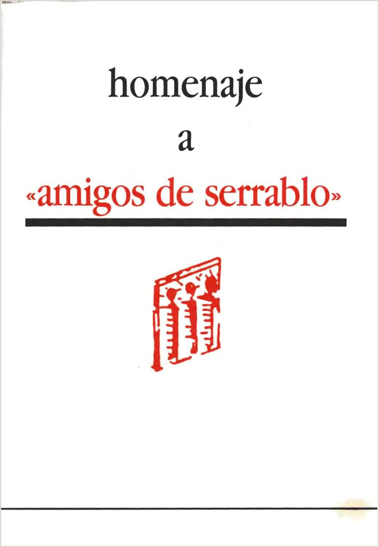Como Hacer Una Hoja De Vida atractiva Homenaje A Amigos De Serrablo by Diputaci³n Provincial De