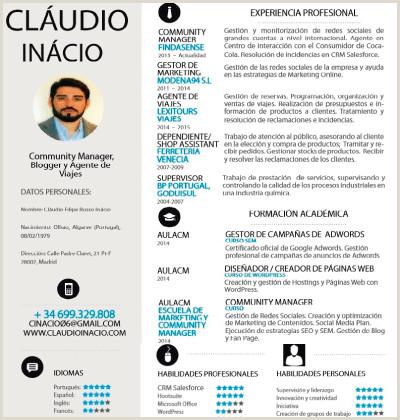 Curriculum Vitae 2019 C³mo hacer un buen curriculum
