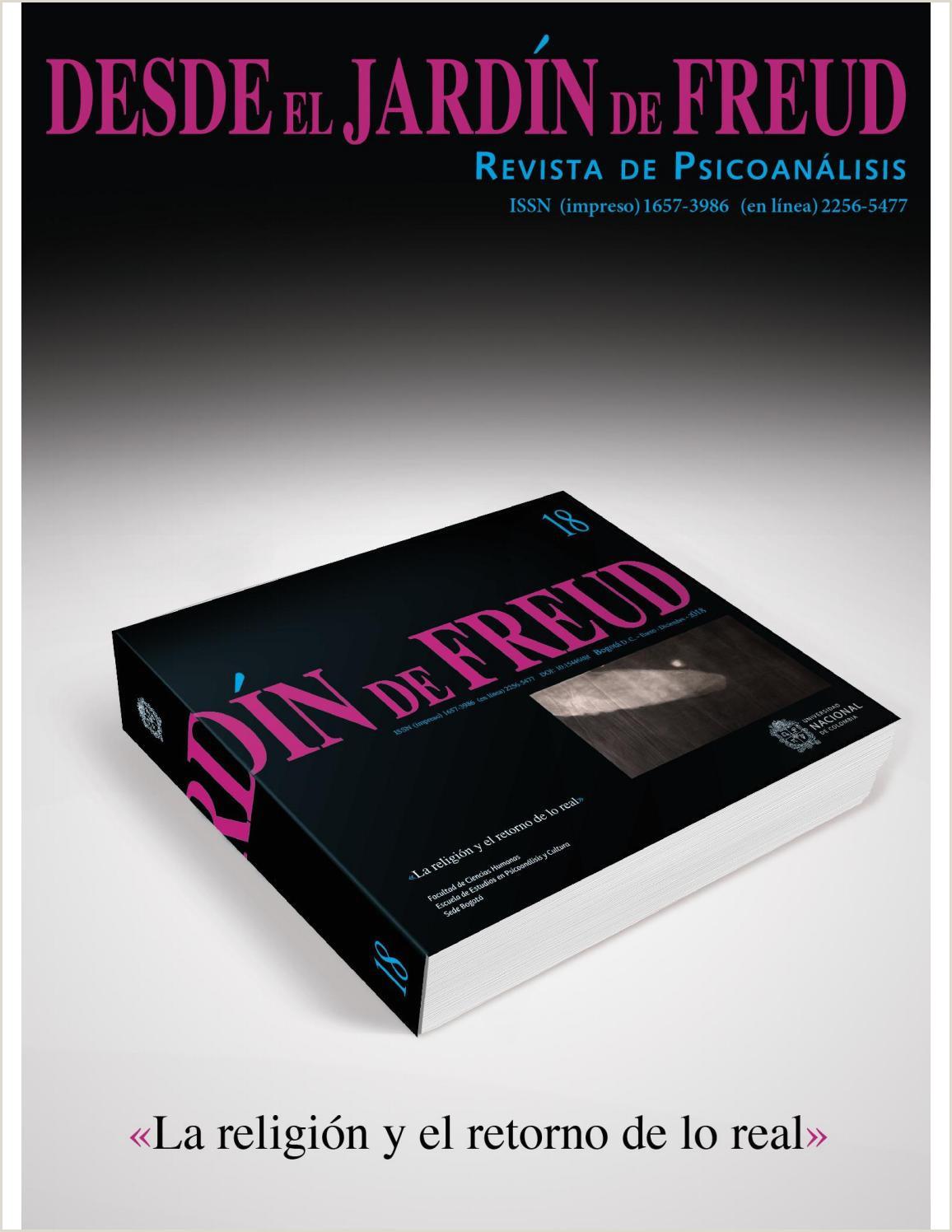 DESDE EL JARDN DE FREUD 18 Revista de Psicoanálisis by