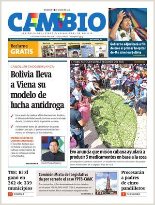 Edici³n Impresa 13 03 16 by Cambio Peri³dico del Estado