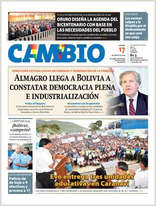Edicion 17 05 19 by Cambio Peri³dico del Estado