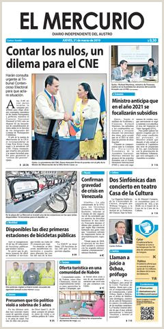 El Mercurio 21 03 2019 by Diario El Mercurio Cuenca issuu