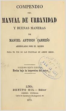Manual de Carre±o la enciclopedia libre