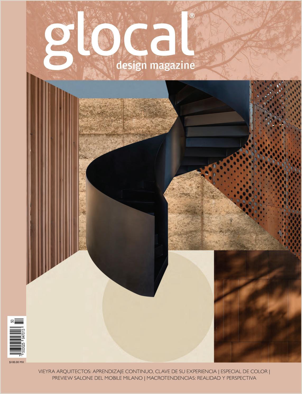 Glocal Design Magazine No 50 Portada por Cover by Vieyra