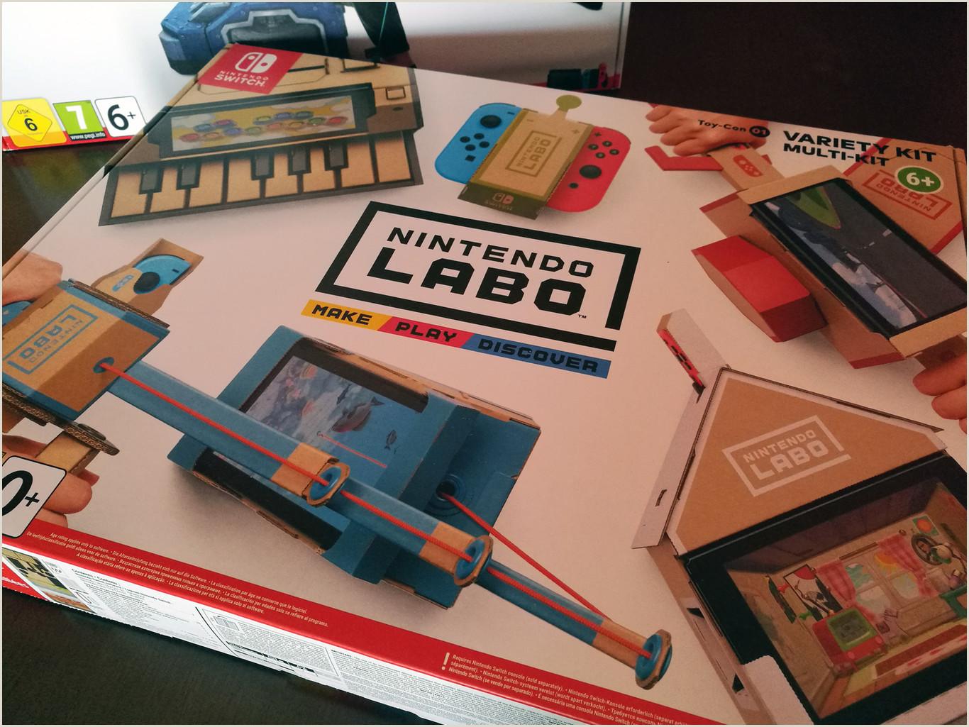 Switch Nintendo Labo Toy Con 01 Kit variado