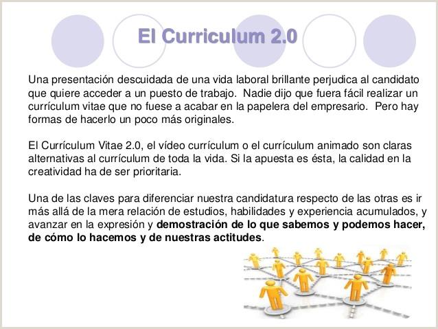 C³mo hacer un Curriculum 2 0 por Susana Moreno Fernández