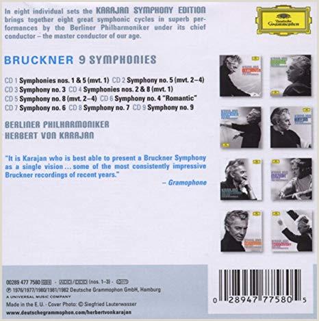 Como Hacer Una Hoja De Vida De Conductor Bruckner 9 Symphonies [box Set] Box Set Import Edition 2008 Audio Cd Importaci³n