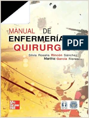 Manual de Enfermera Quirºrgica – Silvia Rosala Rinc³n