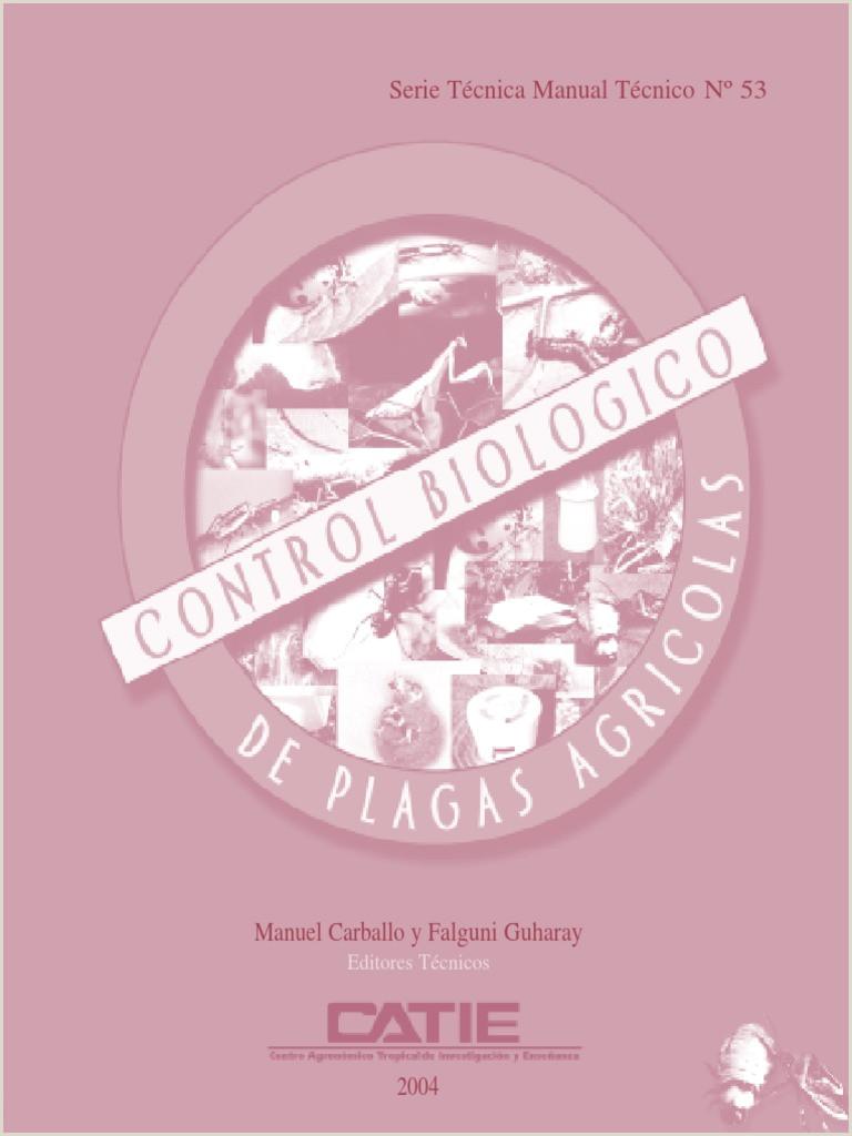 CONTROL BIOLOGICO DE PLAGAS AGRICOLAS pdf