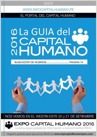 Gu­a del capital humano 2016 by MD Group issuu