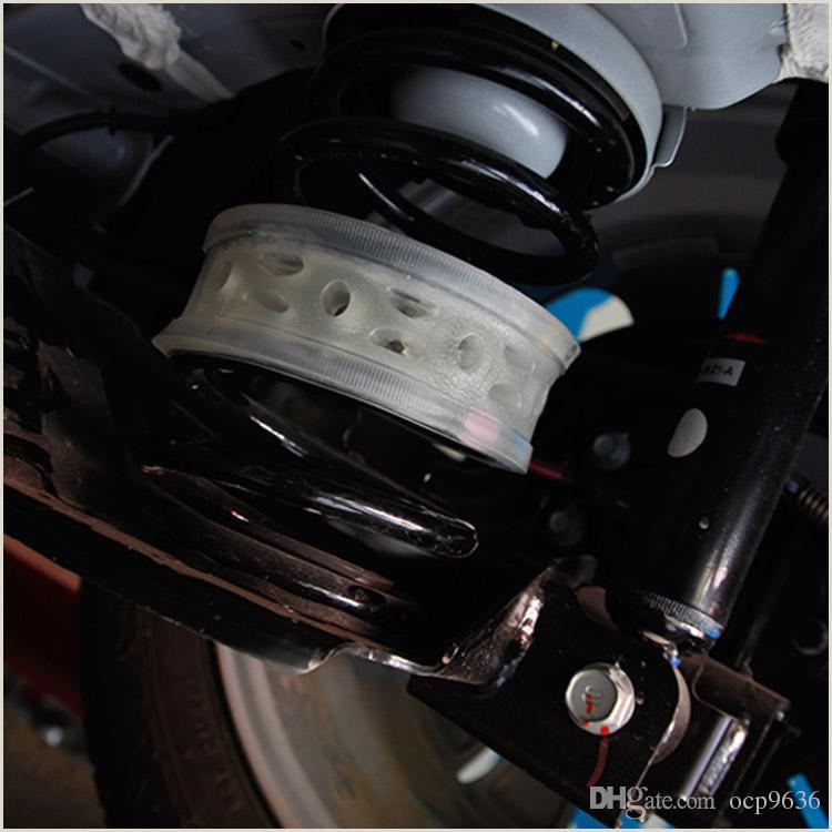 2pcs Super Power Coche trasero Amortiguador de choque amortiguador de amortiguador de potencia especial para Ford Fiesta Cambio de dise±o de coche