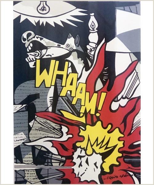 """Litografa de Equipo Cr³nica """"Güernica 1971"""""""