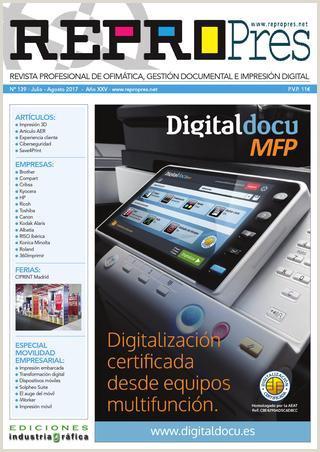 Repropres 139 Julio Agosto 2017 by Ediciones Industria