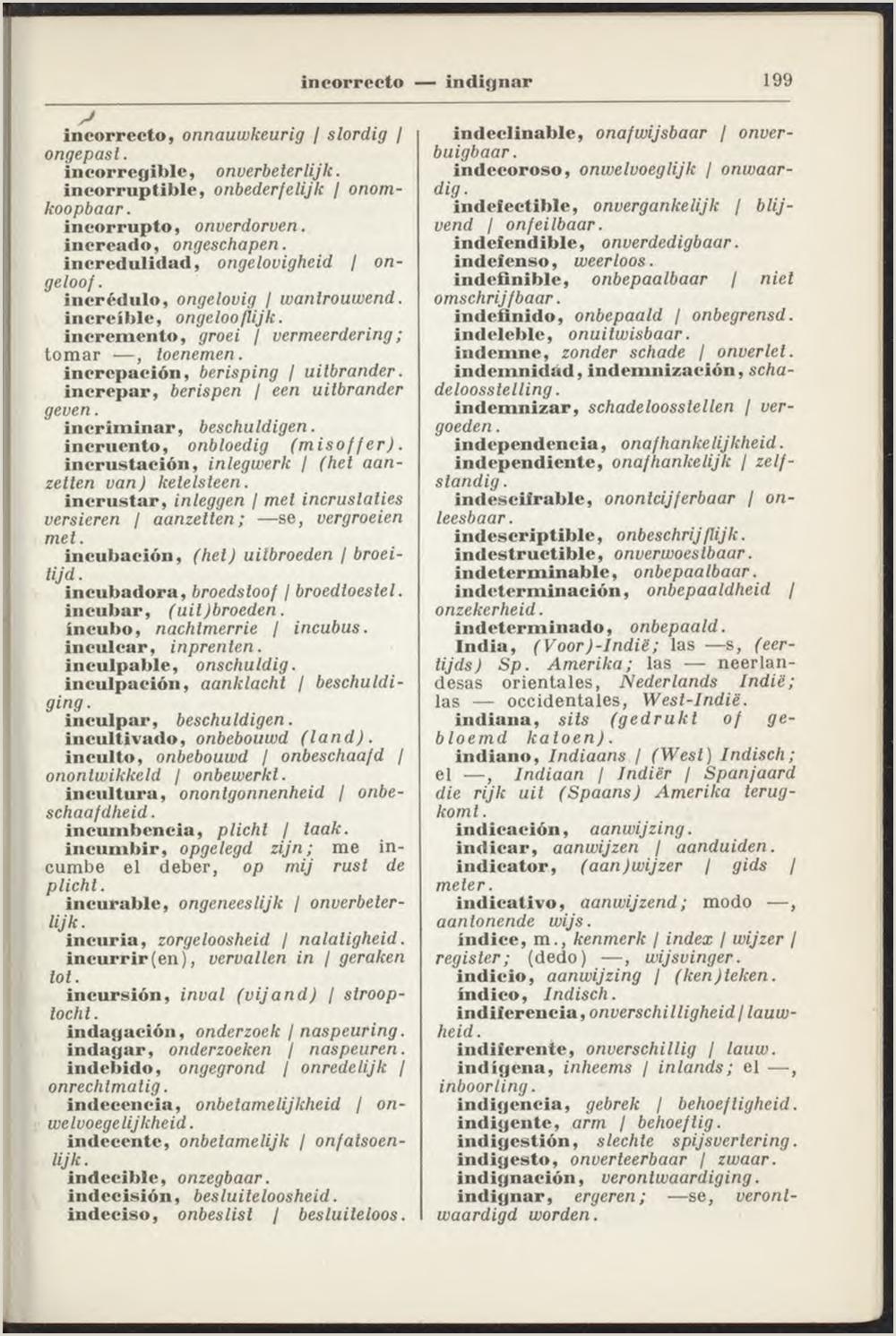 Nederlands Spaans Spaans Nederlands woordenboek Greevink