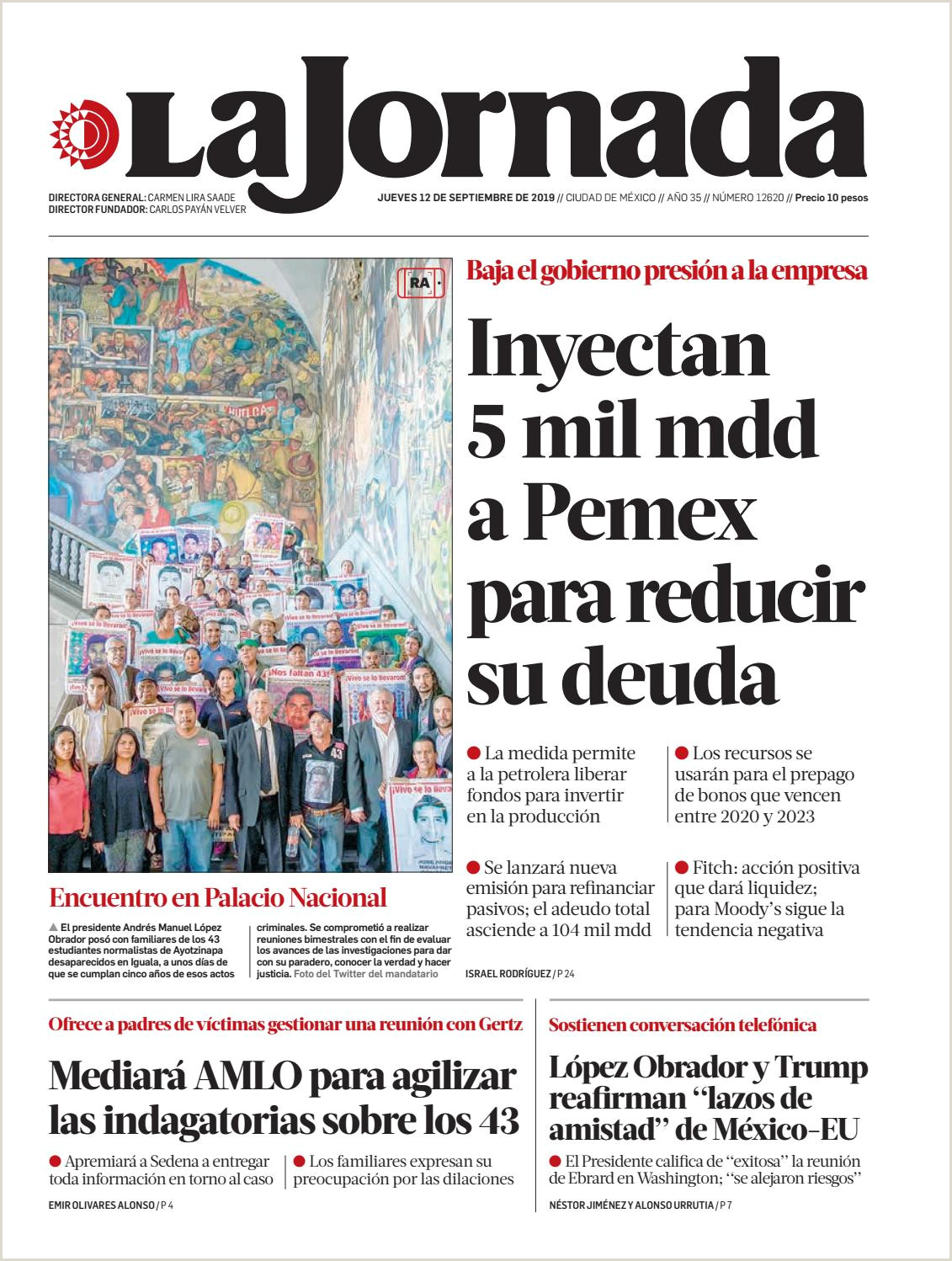 La Jornada 09 12 2019 by La Jornada issuu